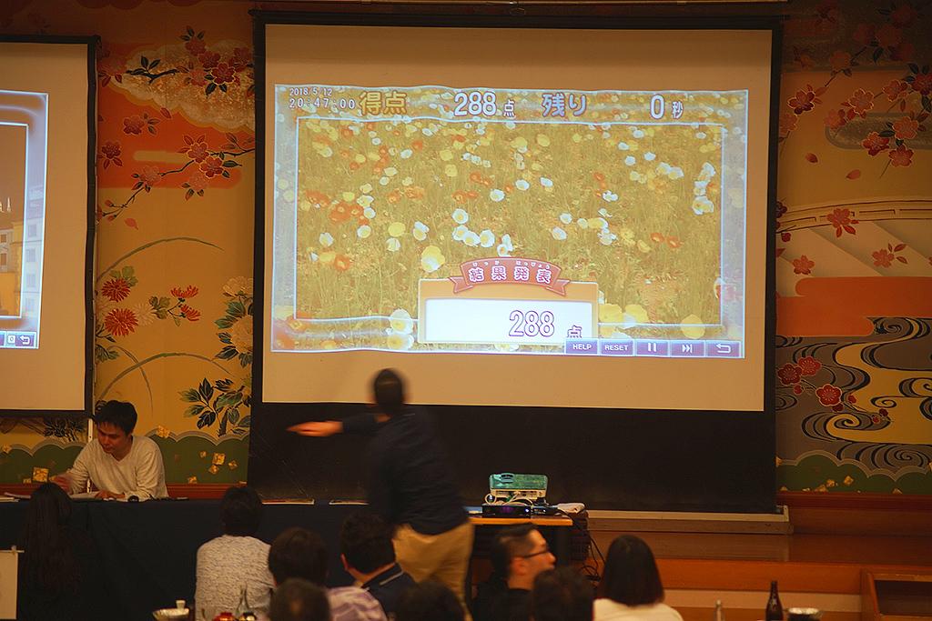 30周年記念旅行 宴会・レクリエーションシステムTANO まどふき ゲーム風景3