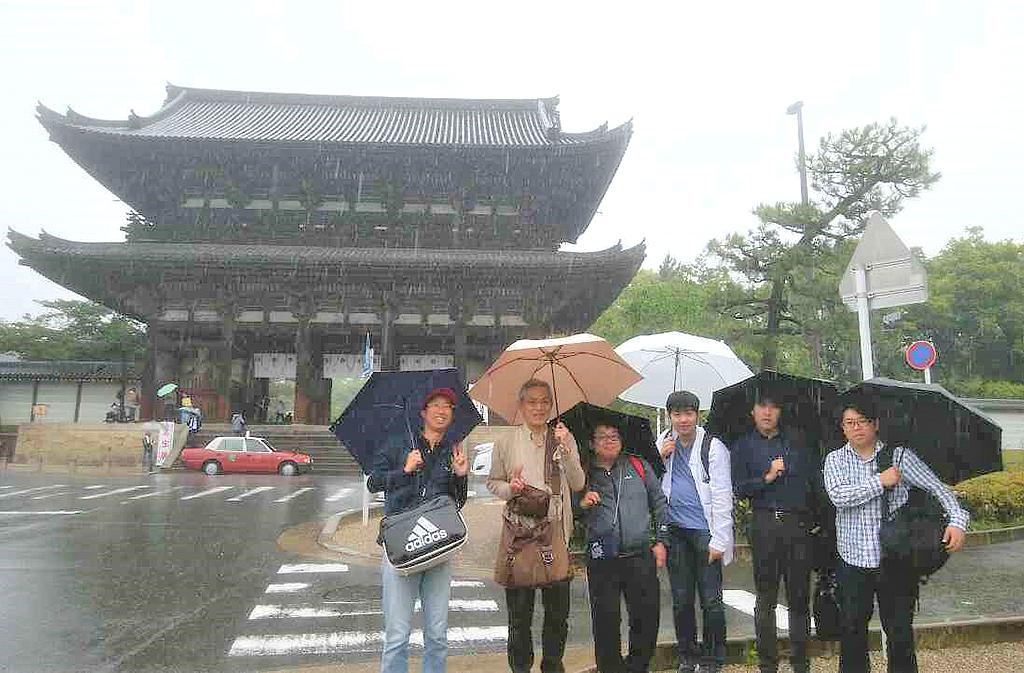 30周年記念旅行 京都市内謎解き街歩きゲーム2