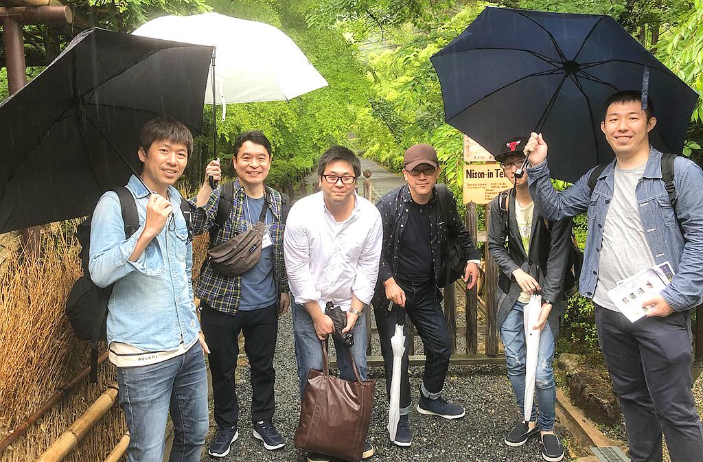 30周年記念旅行 京都市内謎解き街歩きゲーム4
