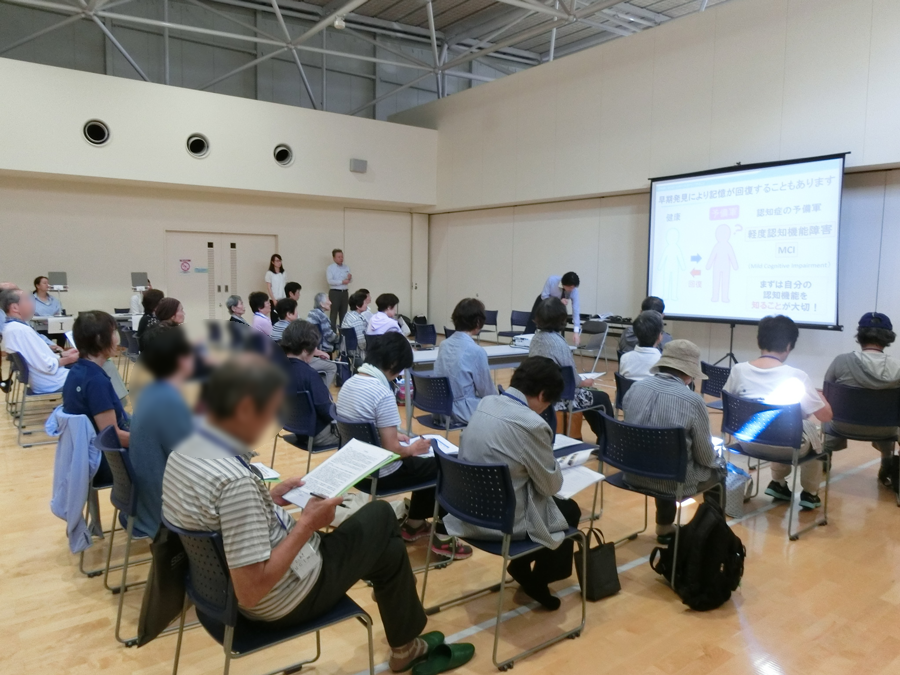 大阪大学大学院医学系研究科 武田准教授による事業説明